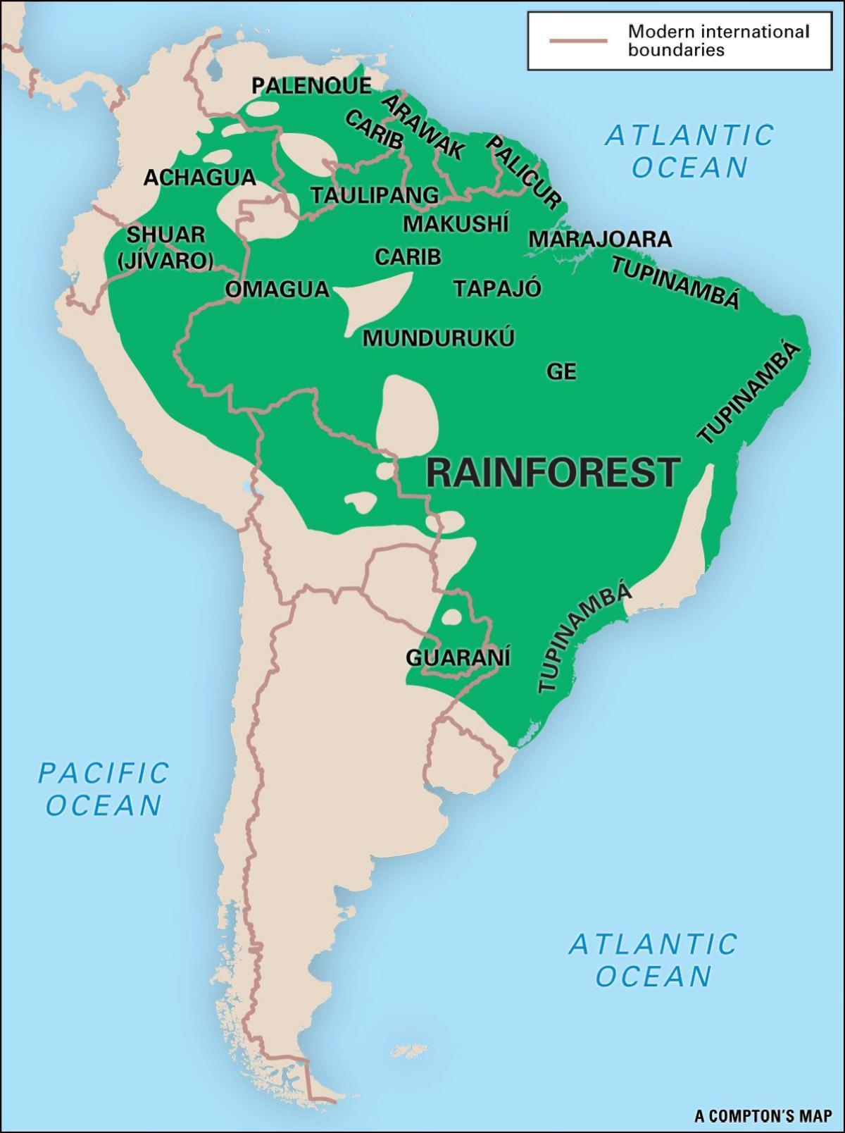kart over amazonas Kart over Brasil i amazonas regnskog   Kart av regnskogen i  kart over amazonas